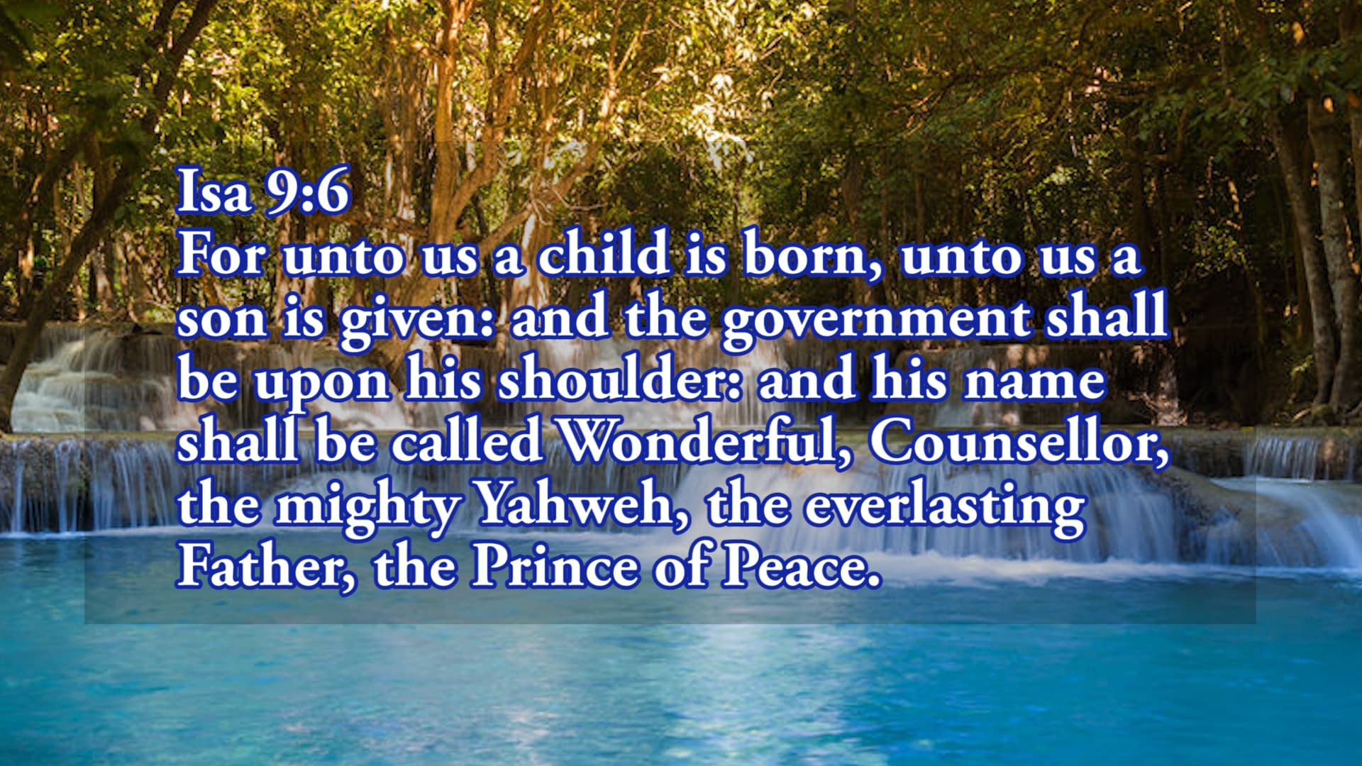 Pray to the Father in the name of Jesus