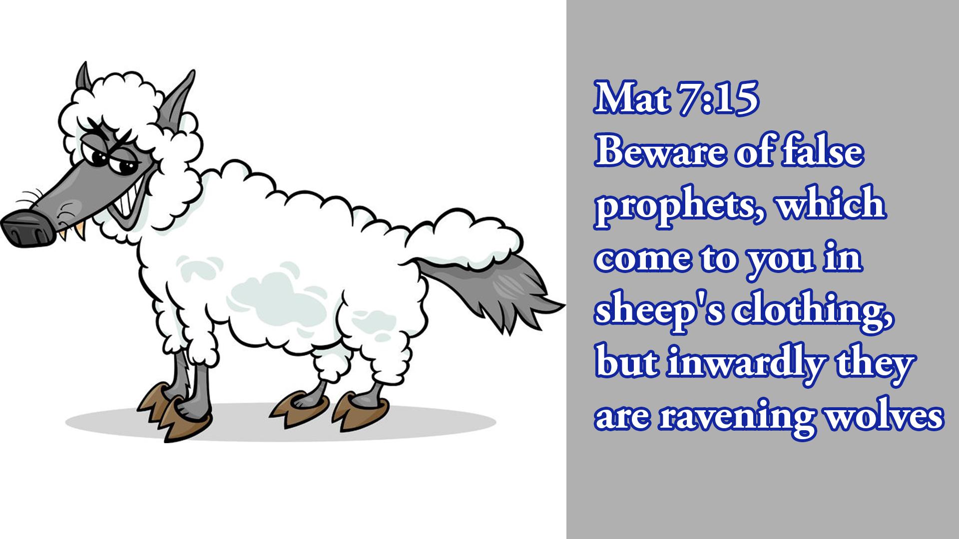 False Teachers In The Christian Church