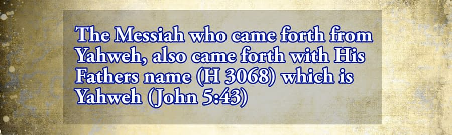came forth from the Father