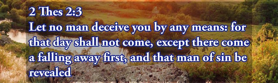 Pre tribulation Rapture deception
